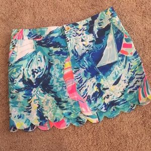 ❗️1 HR SALE❗️NWT Lilly pulitzer hey bay bay skort